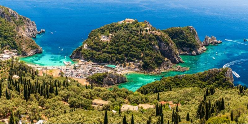 Paleokastrítsa - Corfu