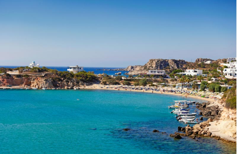 Het strand Pera Ammos beach Karpathos