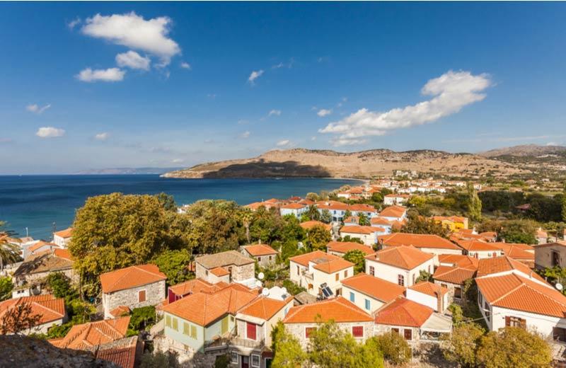 Bestemmingen Petra op Lesbos