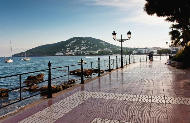 Promenade van Santa Eulalia del Rio