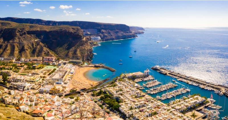 Puerto de Mogán op Gran Canaria