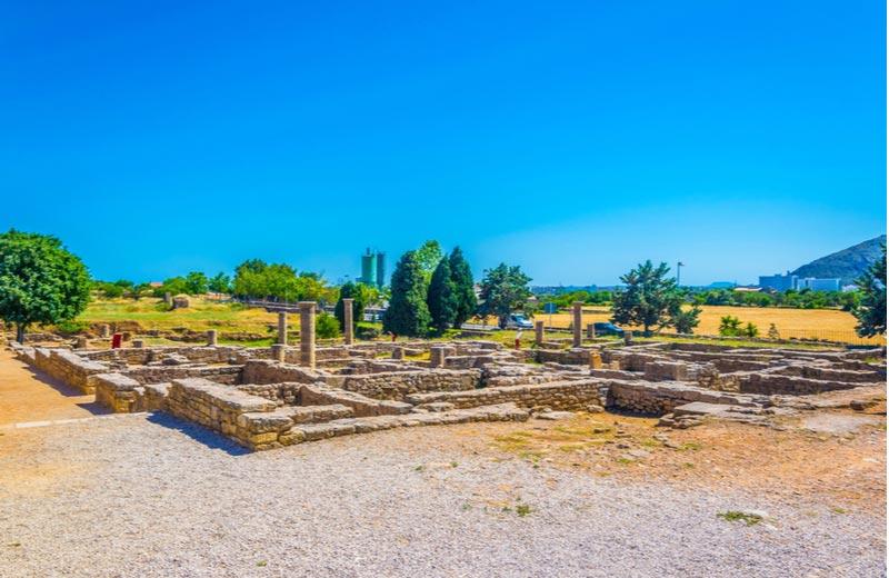 Romeinse Ruïnes Pollentia Alcudia Mallorca