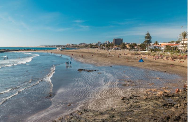 Strand van San Agustín