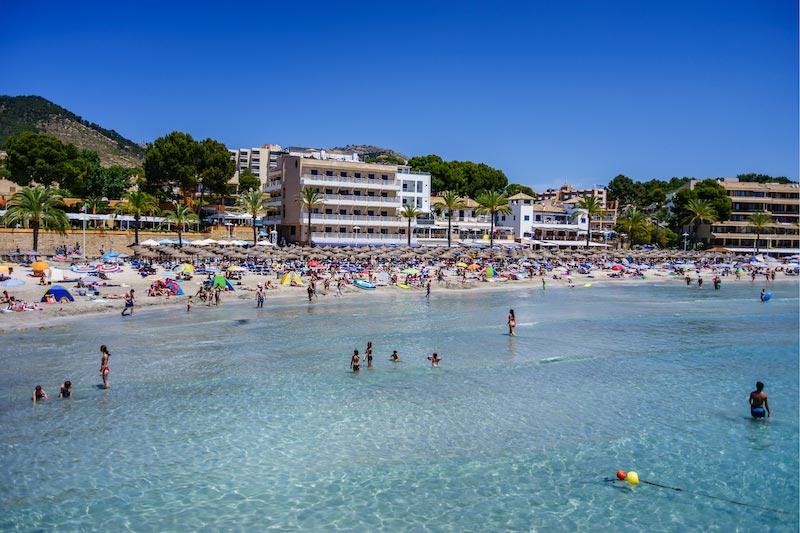 Strand van Palma Nova