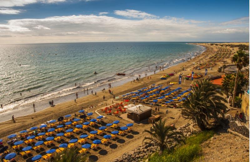 Strand van Playa del Inglés