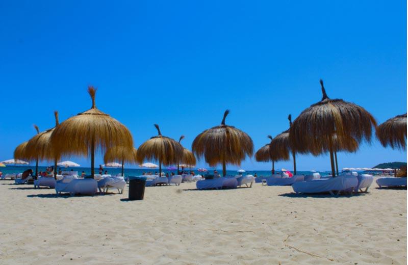 Strand Playa d'En Bossa Ibiza