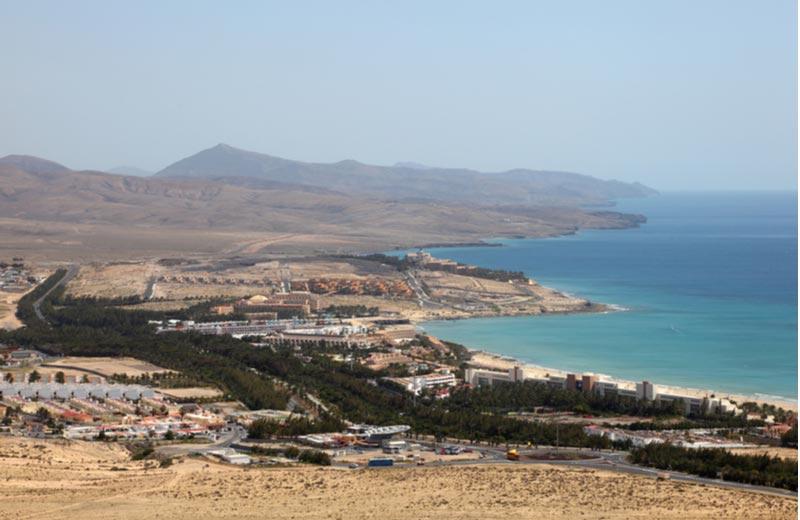 Costa Calma op Fuerteventura