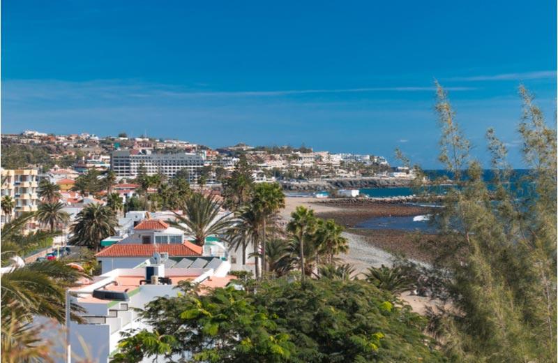 Uitzicht over San Agustín