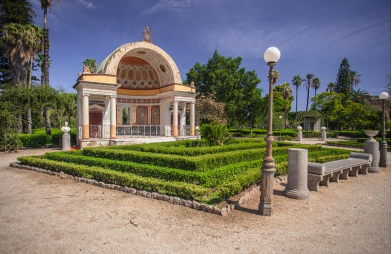 Villa Giulia Park in Palermo