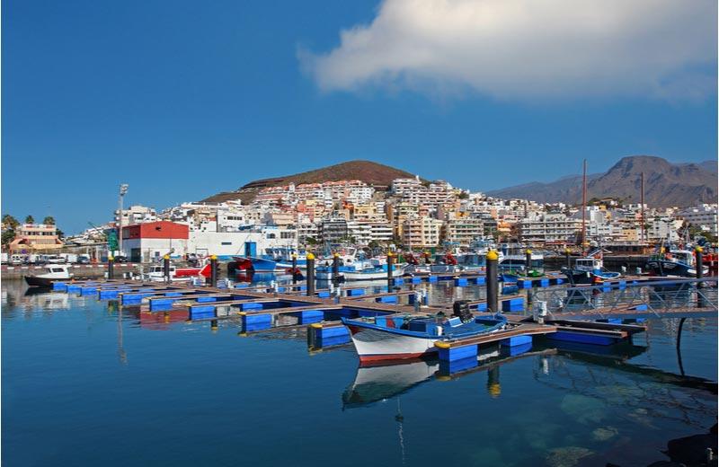 De mooiste vissershaven in Los Cristianos