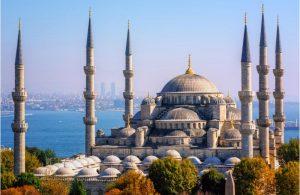 Blauwe Moskee in Istanbul