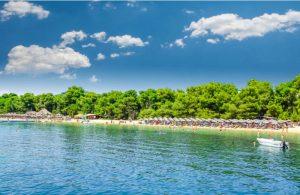 Koukounaries strand Skiathos