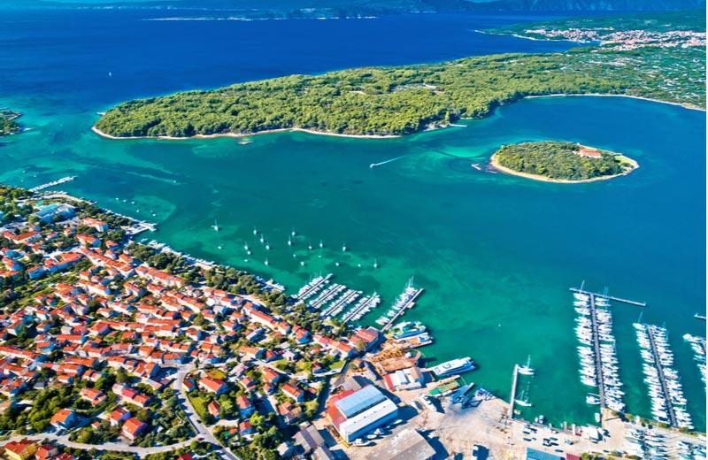 Punat Krk Kroatië