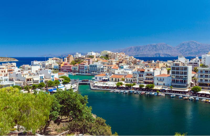 Agios Nikolaos op Kreta