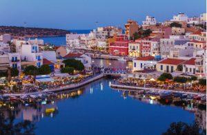Uitgaan in avond in Agios Nikolaos