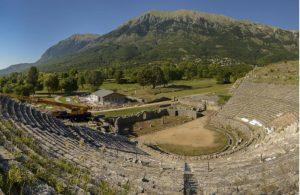 Amfitheater Dodoni in Epirus
