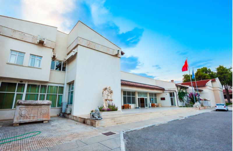 Het archeologisch museum in Alanya
