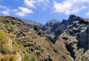 Barranco del Infierno op Tenerife