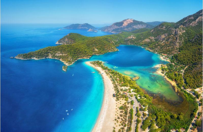 Belcekiz strand bij Fethiye