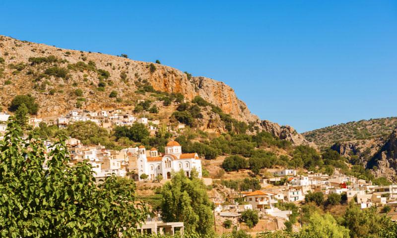 Bergdorpje Kritsa - Kreta