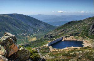Het berggebied Serra da Estrela