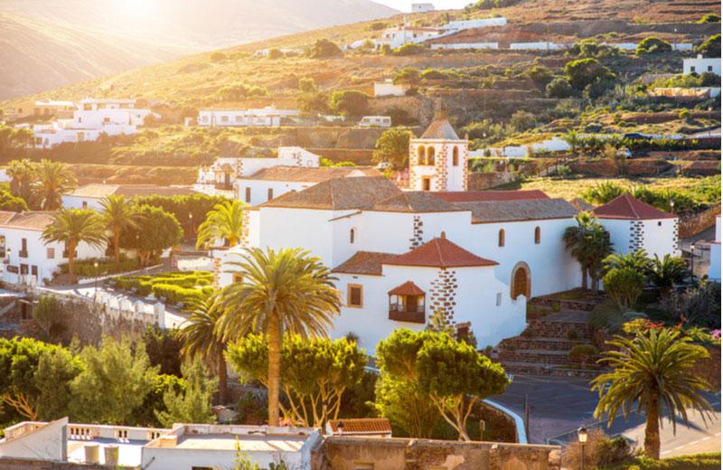Betancuria stad op FuerteventuraBetancuria op Fuerteventura