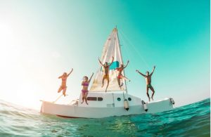 Boot excursie met vrienden Ibiza