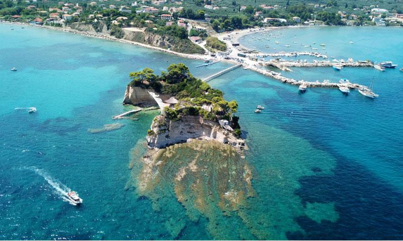 Cameo Island bij Agios Sostis