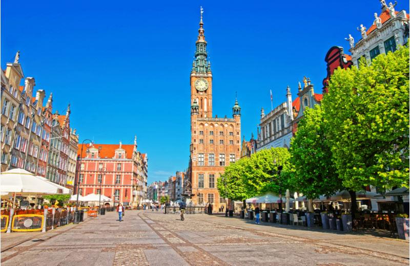 De lange markt Dlugi Targ Gdansk