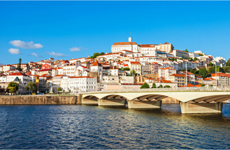 Coimbra in Beira Litoral in Portugal