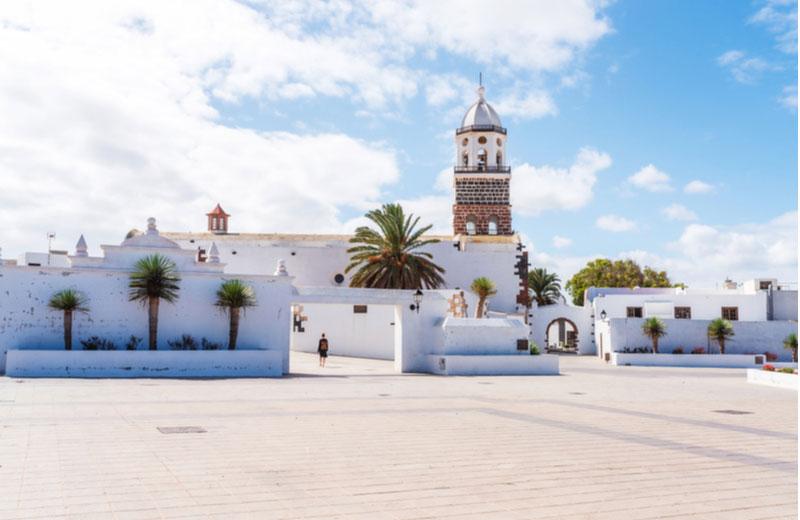Centrum van de stad Teguise