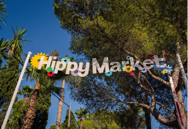 Es Canar markt Ibiza