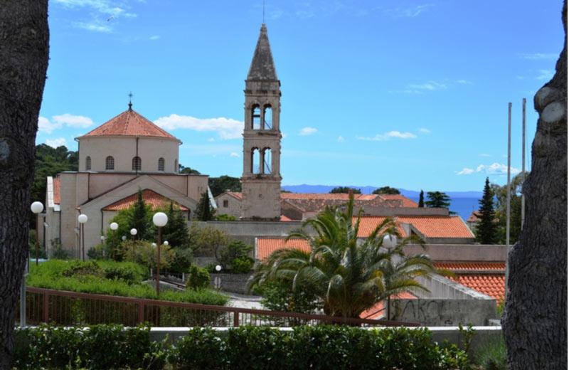 Het Franciscanenklooster in Makarska