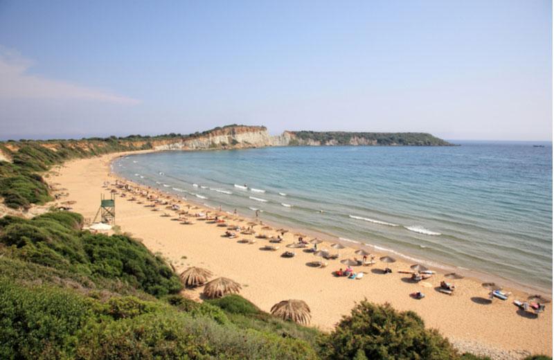 Gerakas beach in Vassilikos