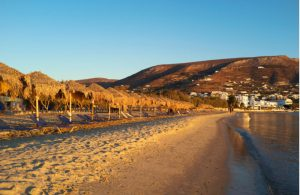 Het strand Golden beach