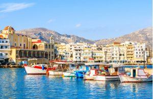 Haven van Pigadia / Karpathos-stad