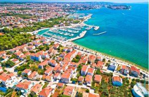 De haven van Zadar