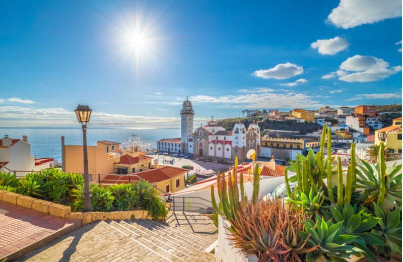 Het dorpje Candelaria op Tenerife