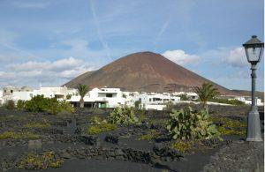 Het dorpje Tahiche op Lanzarote