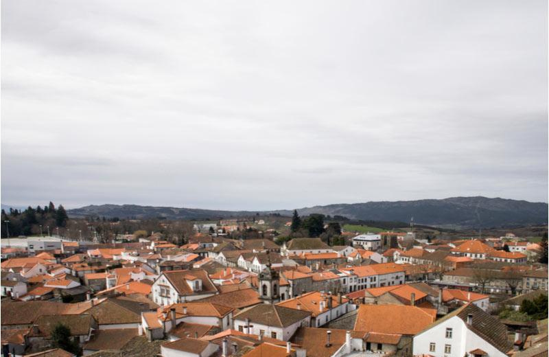 Het historische dorpje Trancoso in Beira Alta