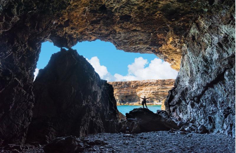 De grotten van Ajuy