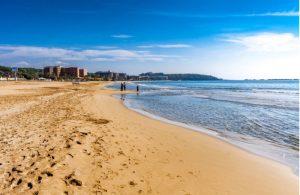 Incekum strand Turkije