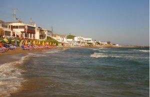 Strand bij Kokkini Chani