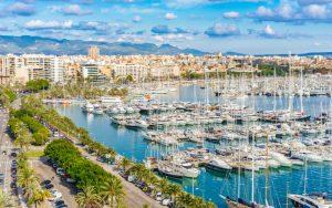 Marina port jachthaven van Palma