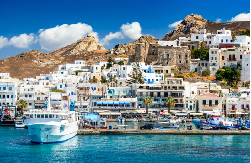 Naxos van de Cylcaden
