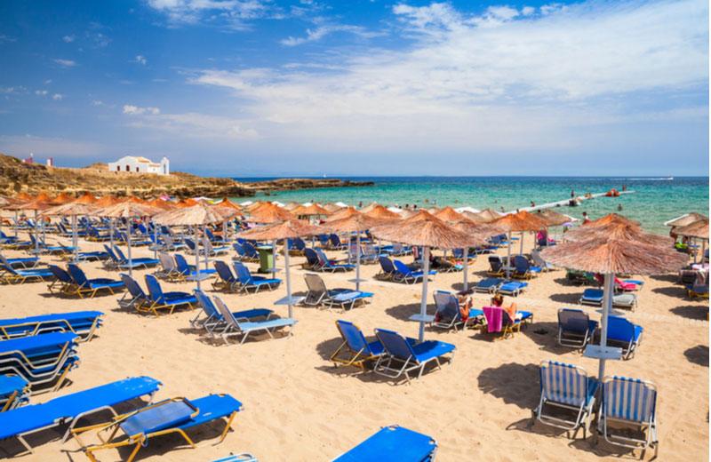 Nicholaos beach op Zakynthos