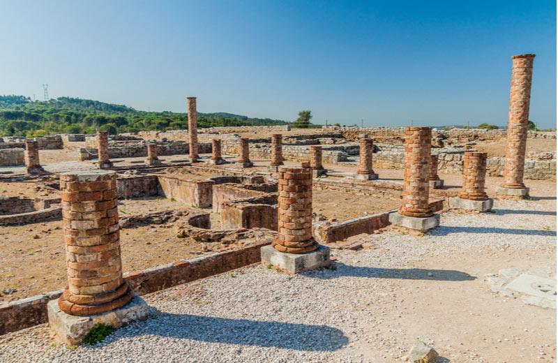 Opgravingen van Conímbriga in Beira Litoral
