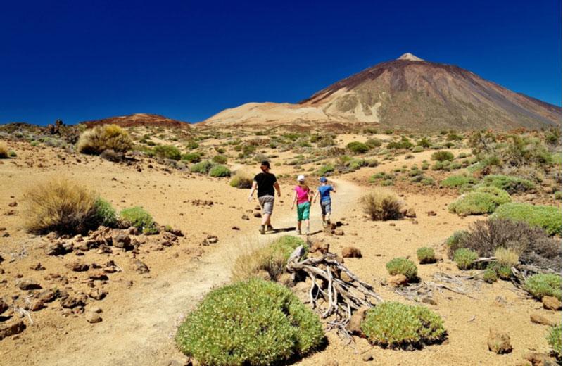 Wandelen naar Pico del Teide