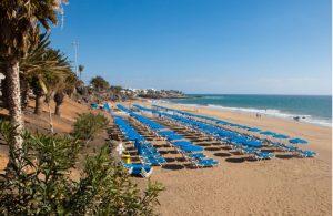 Het strand Playa Grande