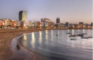 's Avonds uitgaan in Las Palmas